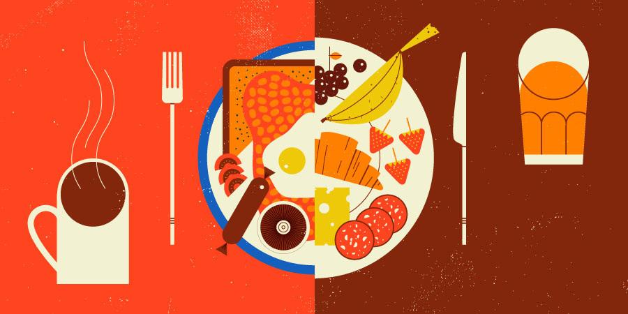 Tesco Food Jamie Jones Illustration